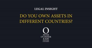 Do you own assets in other countries