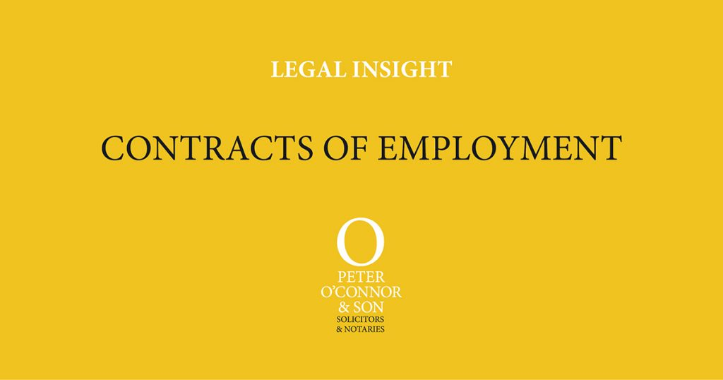 Legal insight contracts of employment